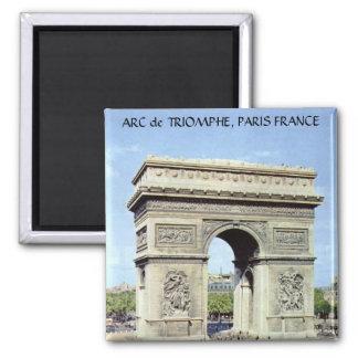 ARC de TRIOMPHE, PARIS FRANCE Magnet