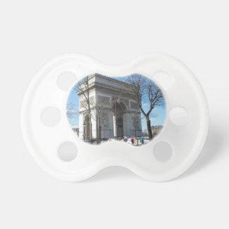 Arc de Triomphe, Paris, France BooginHead Pacifier