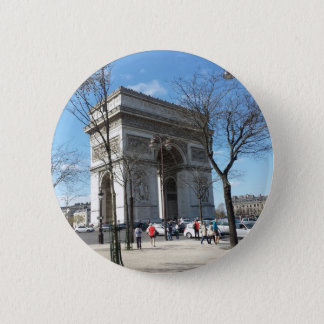Arc de Triomphe, Paris, France Pinback Button