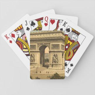 Arc de Triomphe, Paris, France Playing Cards