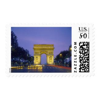 Arc de Triomphe, Paris, France, Postage