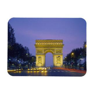 Arc de Triomphe Paris France Vinyl Magnets