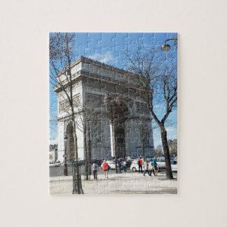 Arc de Triomphe, Paris, France Jigsaw Puzzle