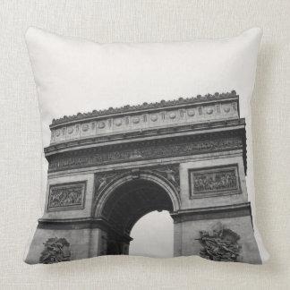 Arc de Triomphe Paris France Throw Pillow