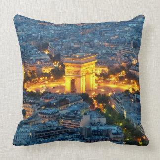 Arc de Triomphe, Paris, France Throw Pillow