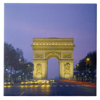 Arc de Triomphe, Paris, France, Tile
