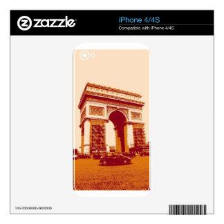 Arc de Triomphe Paris iPhone 4 Skins