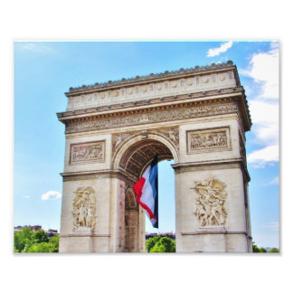 Arc de Triomphe, Paris Photo Print