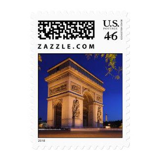 Arc de Triomphe Postage Stamp