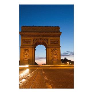 Arc de Triomphe Stationery Paper