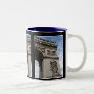 Arc de Triomphe Triptych Mug