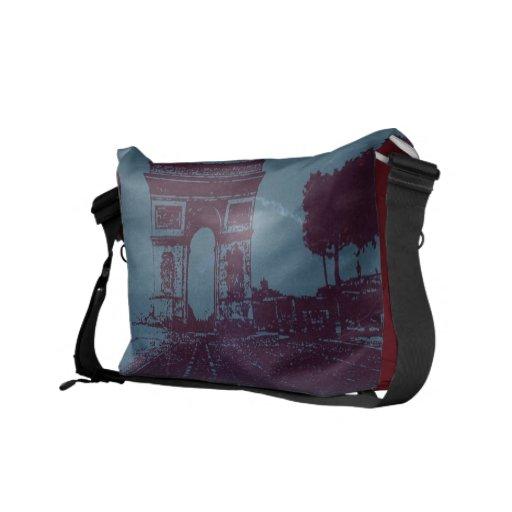 ARC DE TRIUMPH Paris Courier Bags