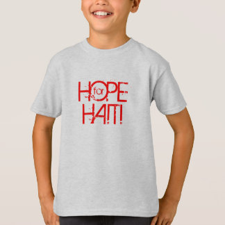 ARC DONATION! HOPE FOR HAITI Kids Vintage T T-Shirt