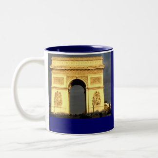 Arc D'Triomphe Two-Tone Coffee Mug