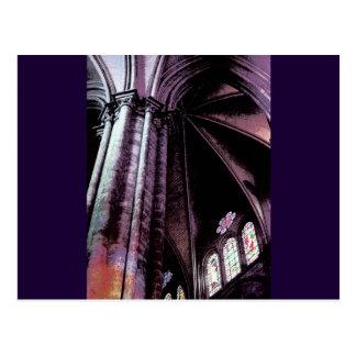 Arc European Church Postcard