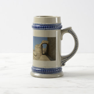Arc in ancient Caesarea 18 Oz Beer Stein