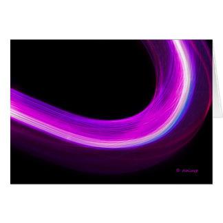 arc of purple light card