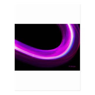 arc of purple light postcard