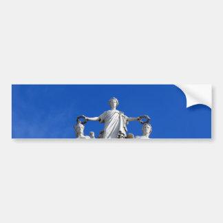 Arc of the August Street, Lisbon, Portugal Bumper Sticker