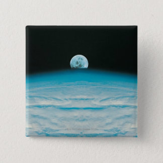 Arc of the Earth and Moon Pinback Button