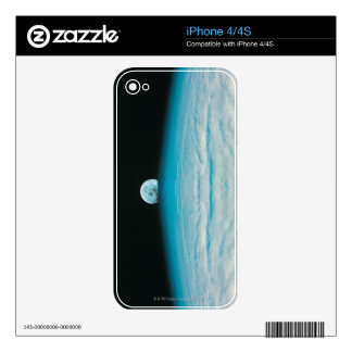 Arc of the Earth and Moon Skins For iPhone 4S