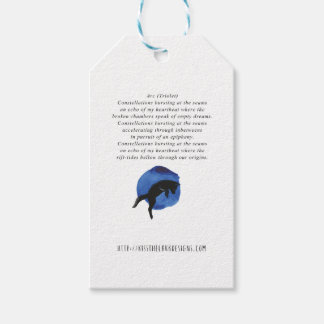 Arc - Poetry by Jessica Fuqua Gift Tags
