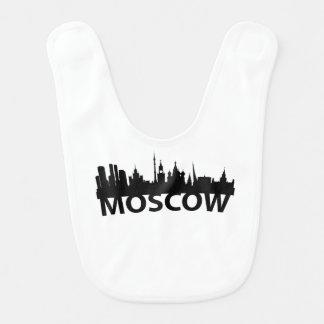 Arc Skyline Of Moscow Russia Baby Bib