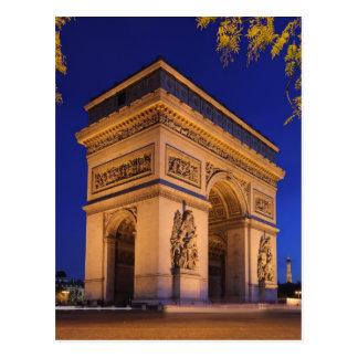 Arc Triomphe Postcard