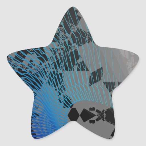Arc Wave Abstract Pattern Stickers