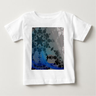 Arc Wave Abstract Pattern Tee Shirts