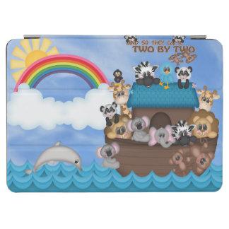 Arca de Noahs de los animales dos por la gran Cubierta De iPad Air