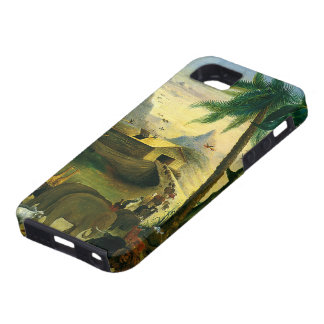 Arca de Noahs Hidley arte religioso del Victoria iPhone 5 Case-Mate Cárcasas