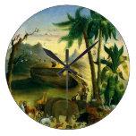 Arca de Noahs, Hidley, arte religioso del Victoria Relojes De Pared