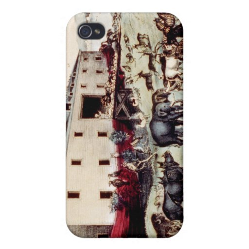 Arca de Noahs iPhone 4/4S Carcasa