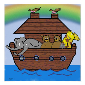 Arca de Noahs - poster Póster
