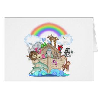 Arca de Noahs Tarjeta De Felicitación