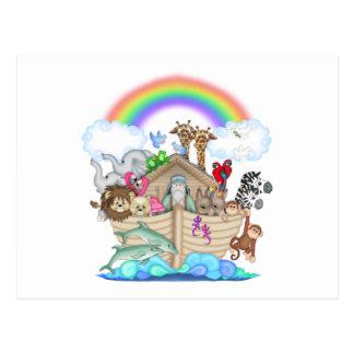Arca de Noahs Tarjeta Postal