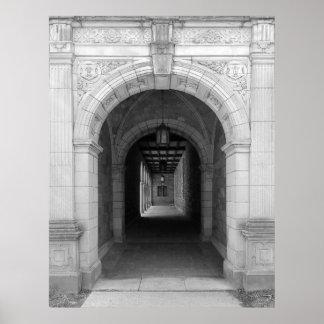 Arcada de Ann Arbor Michigan Póster