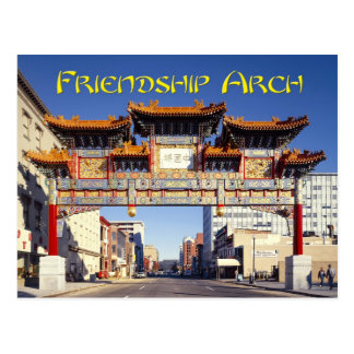 Arcada de la amistad de Chinatown en Washington, Postal