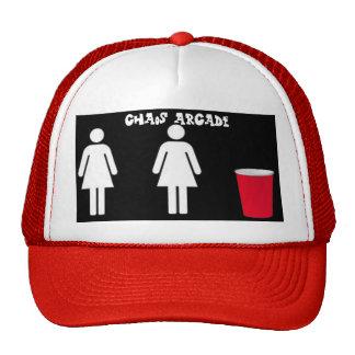 arcada del caos 2girls1cup gorras de camionero