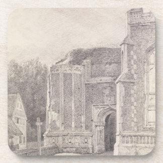 Arcada del sur de la torre arruinada de Bergholt d Posavasos De Bebida