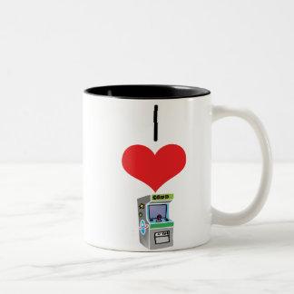arcada-juego taza de café de dos colores