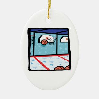 Arcade Basketball Christmas Ornament