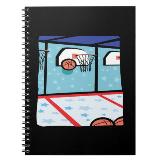 Arcade Basketball Spiral Notebook