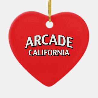 Arcade California Christmas Tree Ornaments