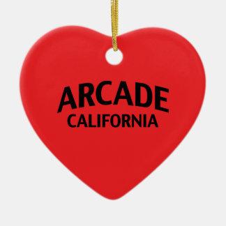 Arcade California Christmas Ornaments