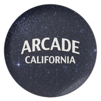 Arcade California Plate