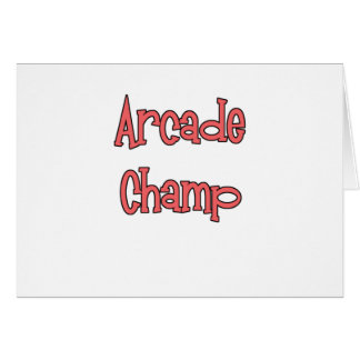 Arcade Champ by Chillee Wilson Card