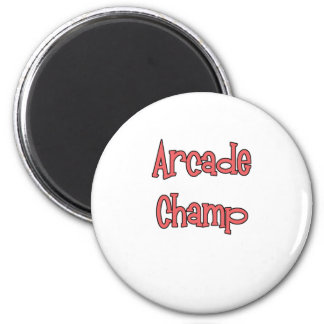 Arcade Champ by Chillee Wilson Magnet