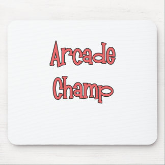 Arcade Champ by Chillee Wilson Mouse Pad
